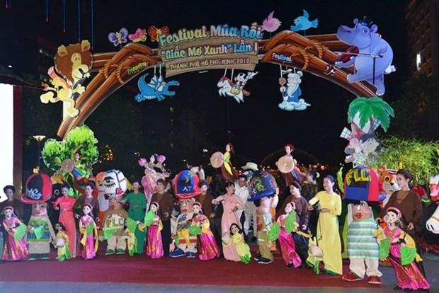 Ouverture du premier Festival de marionnettes du Vietnam hinh anh 1