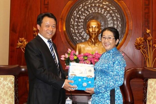 Intensifier les echanges entre les jeunesses vietnamienne et chinoise hinh anh 1
