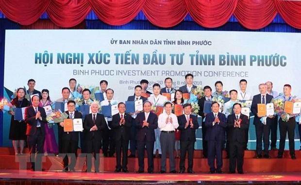 Binh Phuoc : la licence d'investissement delivree a 19 projets hinh anh 1