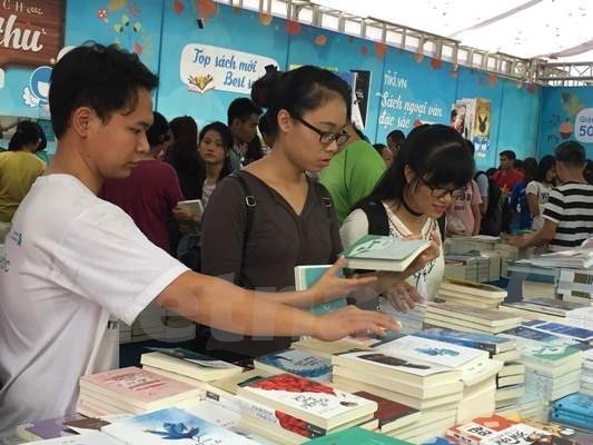Bientot la Fete des livres de l'automne 2018 a Hanoi hinh anh 1