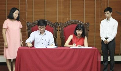 Cooperation dans la formation entre l'UAH et le bureau d'architecture Scene Plus hinh anh 1