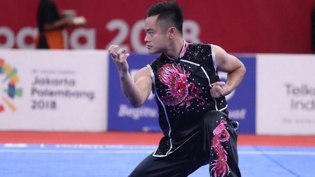 ASIAD 2018: le wushu apporte au Vietnam une medaille d'argent et une de bronze hinh anh 1