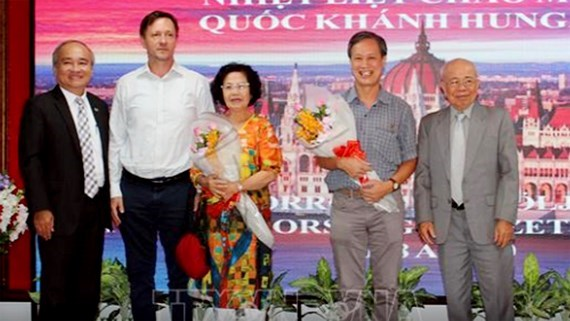 La Fete nationale de Hongrie celebree a Ho Chi Minh-Ville hinh anh 1