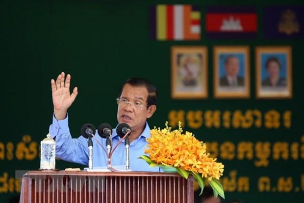 Cambodge : Hun Sen rencontre les dirigeants des partis politiques hinh anh 1