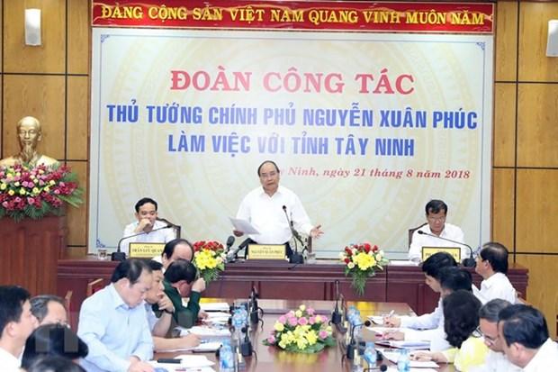 Tay Ninh exhortee a devenir un centre de transformation pour produits agricoles de haute qualite hinh anh 1