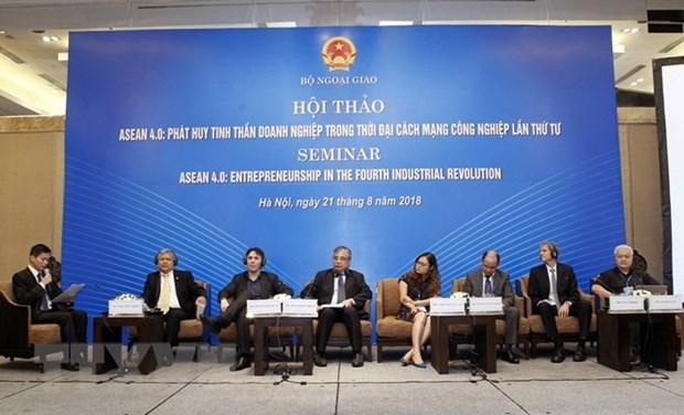 L'ASEAN appelee a promouvoir l'entrepreunariat a l'ere de l'industrie 4.0 hinh anh 1