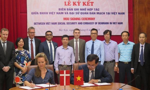 Vietnam-Danemark : un memorandum de cooperation dans l'assurance sociale hinh anh 1