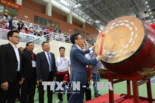 Debut des Championnats du monde d'arts martiaux traditionnels vietnamiens hinh anh 1