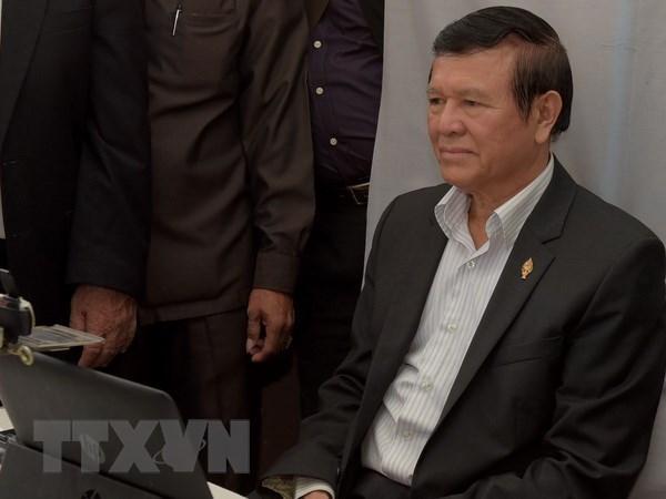 Cambodge : l'ancien chef de l'opposition reste en prison hinh anh 1