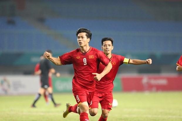 Football masculin - ASIAD 2018 : les medias asiatiques louent la victoire historique du Vietnam hinh anh 1