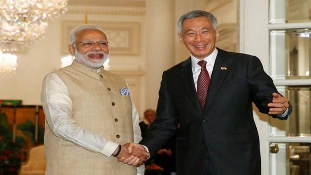 Inde et Singapour signent un deuxieme protocole modifiant leur CECA hinh anh 1