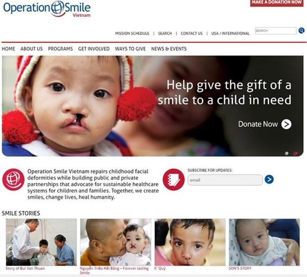 Operation Smile rend le sourire aux enfants de Dak Lak hinh anh 1