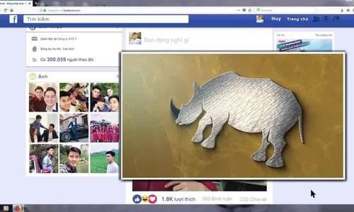 Un court-metrage appelle a la fin du massacre des rhinoceros hinh anh 1