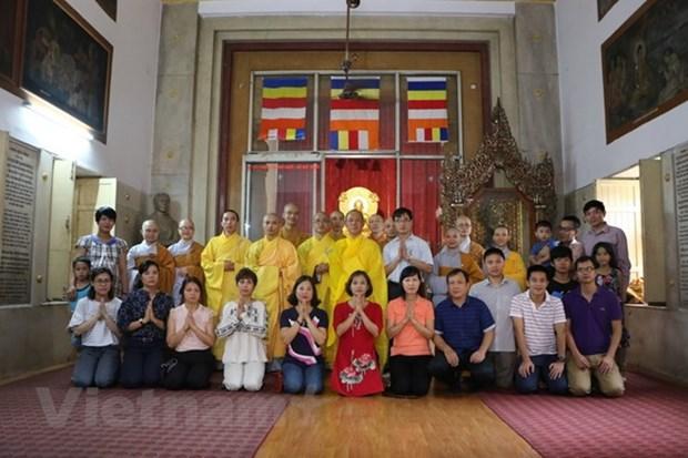 La communaute des Vietnamiens en Thailande et en Inde celebre la fete de Vu Lan hinh anh 1