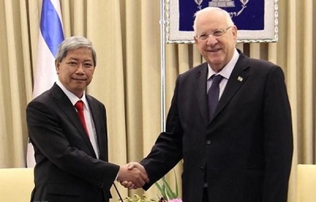 Les relations entre le Vietnam et Israel entrent dans une periode d'or hinh anh 1