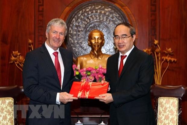 Ho Chi Minh-Ville et la Nouvelle-Zelande renforcent la cooperation commerciale hinh anh 1