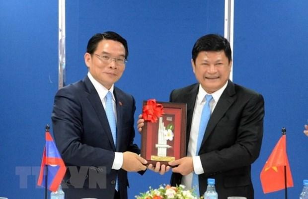 Les Associations d'amitie Vietnam-Laos et Laos-Vietnam renforcent les relations bilaterales hinh anh 1