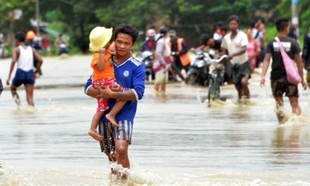 Myanmar : plus de 50.000 personnes evacuees suite a la rupture d'un barrage hinh anh 1