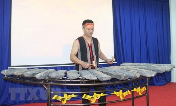 Binh Phuoc: un lithophone reconnu
