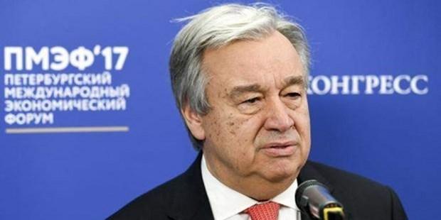 Antonio Guterres appelle a des efforts pour regler la crise humanitaire au Myanmar hinh anh 1
