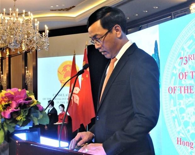 La Fete nationale du Vietnam celebree a Hongkong, au Cambodge et en Afrique du Sud hinh anh 1