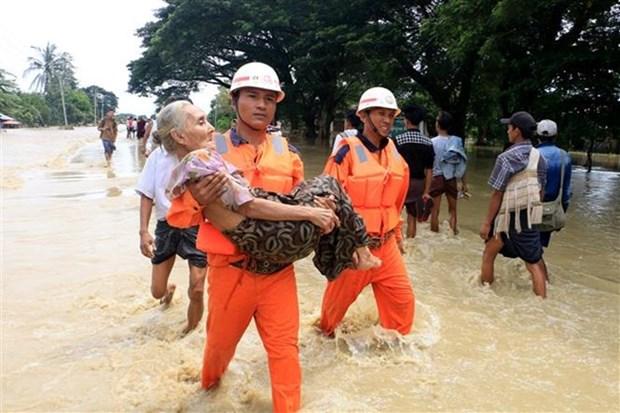 Le Myanmar travaille a surmonter les consequences de la rupture de barrage hinh anh 1