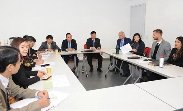 Le Vietnam et le Mexique echangent leurs experiences dans l'administration publique hinh anh 1