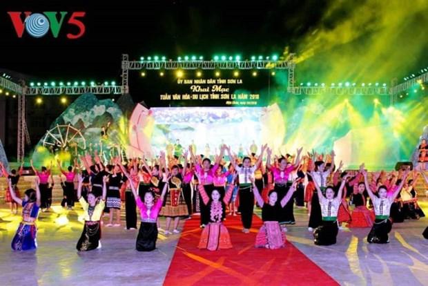Ouverture de la Semaine de la culture et du tourisme de Son La hinh anh 1