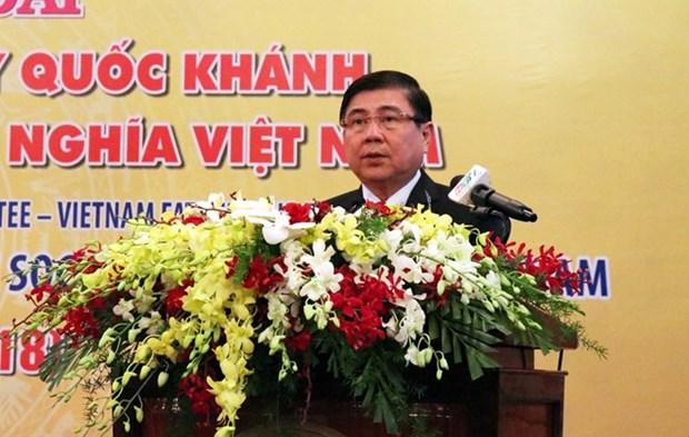 Ho Chi Minh-Ville organise un banquet en l'honneur de la fete nationale hinh anh 1