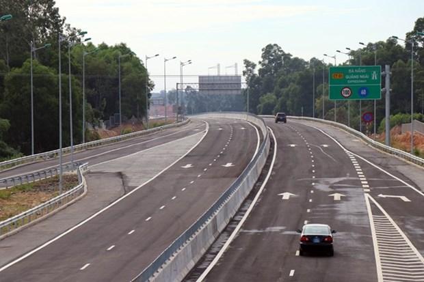 L'autoroute Da Nang - Quang Ngai ouverte au trafic hinh anh 1