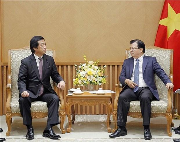 Renforcement de la cooperation Vietnam-Japon dans l'economie et la science maritime hinh anh 1