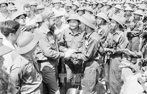 Cuba celebre les 45 ans de la visite du leader cubain Fidel Castro a Quang Tri hinh anh 1