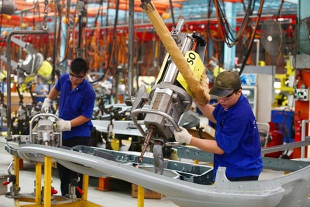 L'indice PMI atteint 53,7 points en aout hinh anh 1