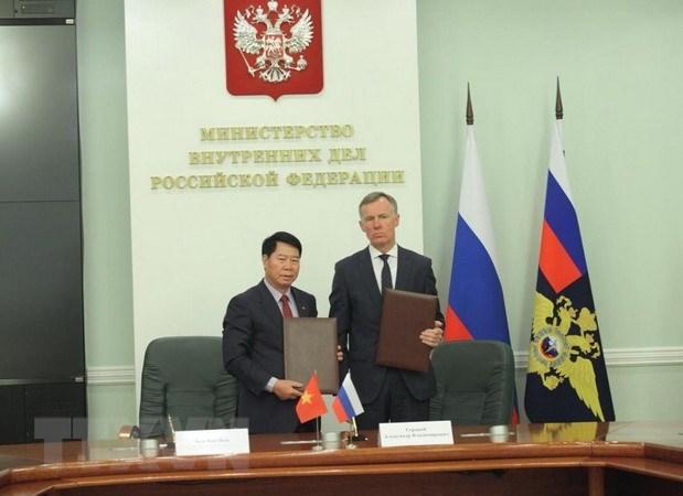 Vietnam et Russie renforcent la cooperation dans la securite hinh anh 1