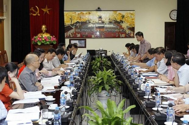 Reunion du comite d'organisation du Forum economique mondial sur l'ASEAN hinh anh 1