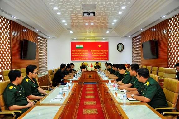 La delegation des jeunes officiers indiens a Ho Chi Minh-Ville hinh anh 1