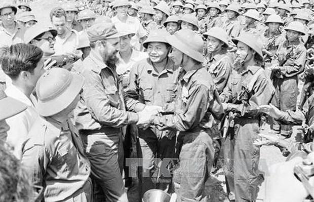 De diverses activites pour celebrer le 45e anniversaire de la visite de Fidel Castro a Quang Tri hinh anh 1