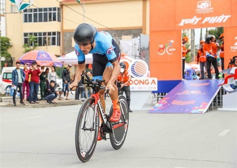 Le cyclisme vietnamien seduit un jeune coureur francais hinh anh 1