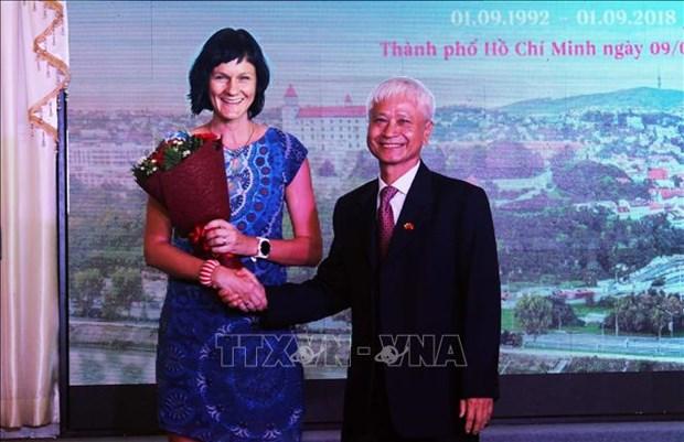 La Fete de la Constitution de la Slovaquie celebree a Ho Chi Minh-Ville hinh anh 1