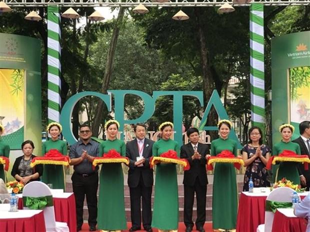 Les villes asiatiques font leur promotion lors d'une exposition touristique a Hanoi hinh anh 1