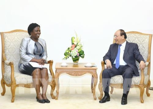 Le Premier ministre recoit la vice-presidente de la BM pour l'Asie de l'Est et le Pacifique hinh anh 1
