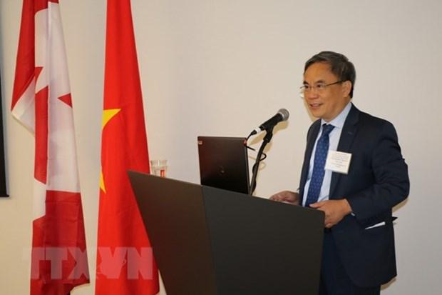 Canada: un colloque sur les nouvelles opportunites de commerce et d'investissement au Vietnam hinh anh 1
