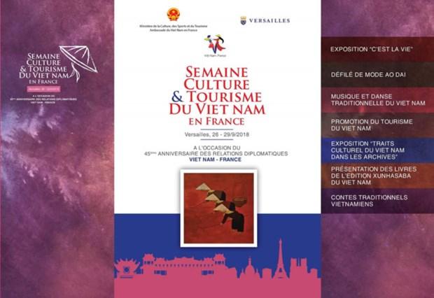 Bientot la Semaine culture et tourisme du Vietnam en France hinh anh 1
