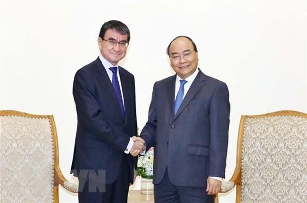 Le PM apprecie le developpement des relations entre le Vietnam et le Japon hinh anh 1
