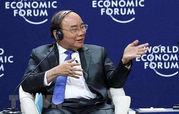 WEF ASEAN 2018 : le PM participe a la seance sur la Nouvelle Vision de la region du Mekong hinh anh 1