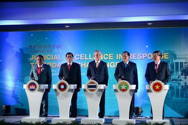 Justice : le Vietnam participe a une conference internationale en Thailande hinh anh 1