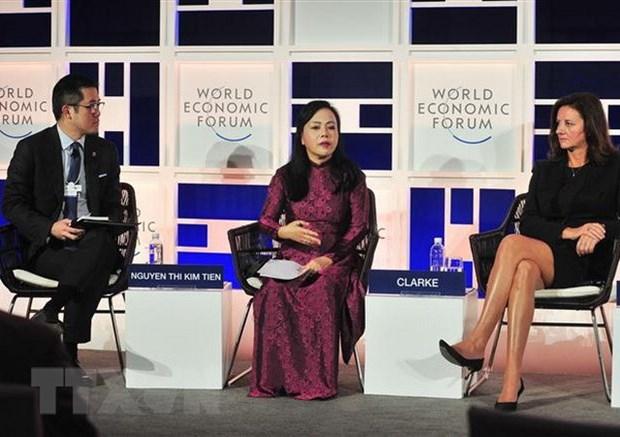 WEF ASEAN : table ronde sur le systeme de sante de l'ASEAN hinh anh 1