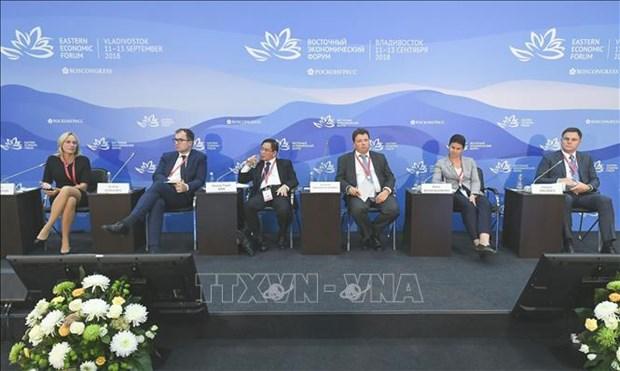 Forum economique oriental: le Vietnam a un debat sur l'espace des affaires hinh anh 1