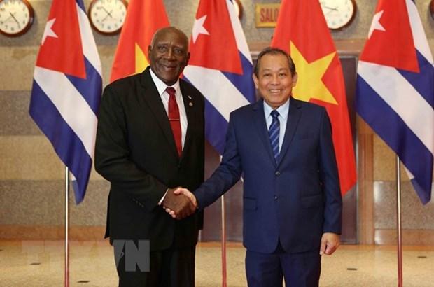 Le Vietnam est determine a approfondir les liens de cooperation avec Cuba hinh anh 1