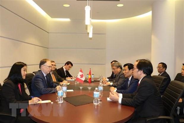 Developpement des relations entre le Canada et le Vietnam hinh anh 1